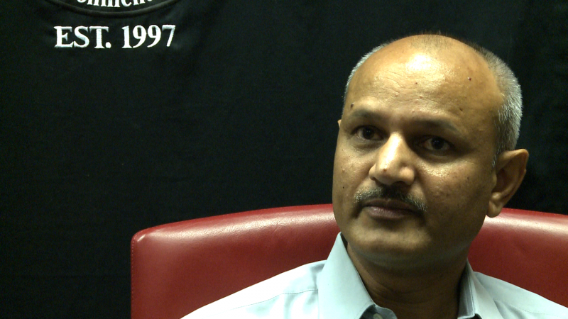 Kamaleshwar Singh, assistant professor at The Institute of Environmental and Human Health.