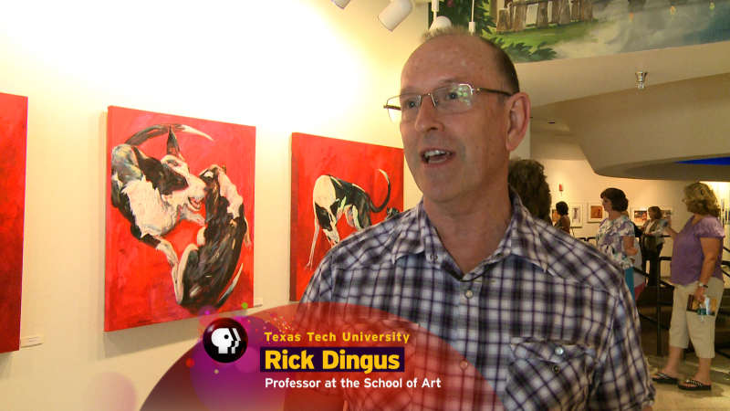 Rick Dingus, professor at the School of Art at Tech.