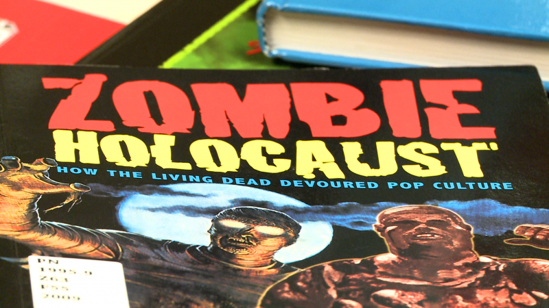One of the books used for the Honors 1304 Zombie Culture class.