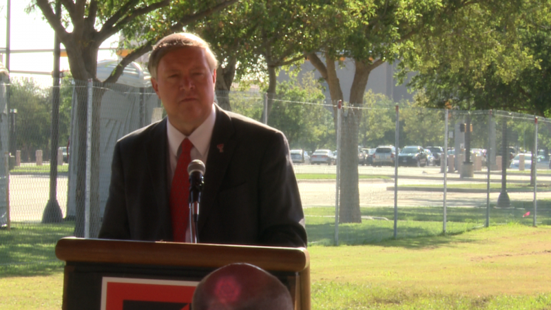 Tech President M. Duane Nellis talks about how Tech is accommodating for enrollment goals.