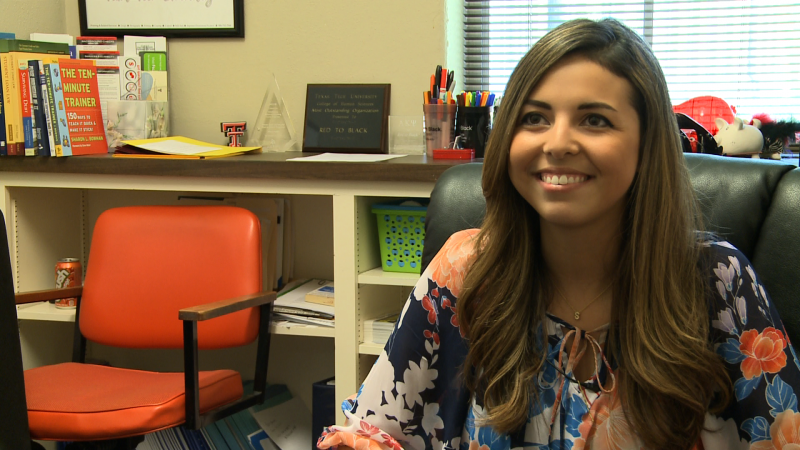 Tech Graduate Assistant Paulina Veloz talks about her success at Tech.