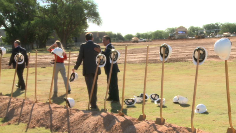 Tech hosted the groundbreaking ceremony for the new student housing complex.