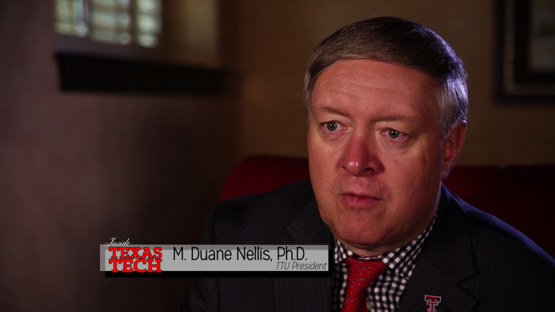 We sit down with Tech's 16th President Dr. Duane Nellis.