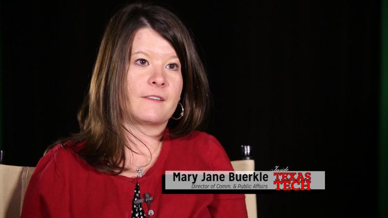 Mary Jane Buerkle talks about how great it is to put cotton on the main stage.