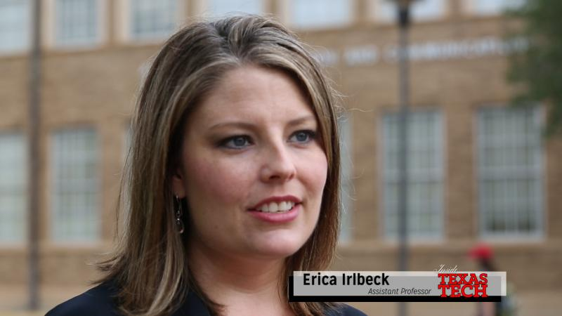 Erica Irlbeck says in the fall two economic powerhouses are on display - football and cotton.