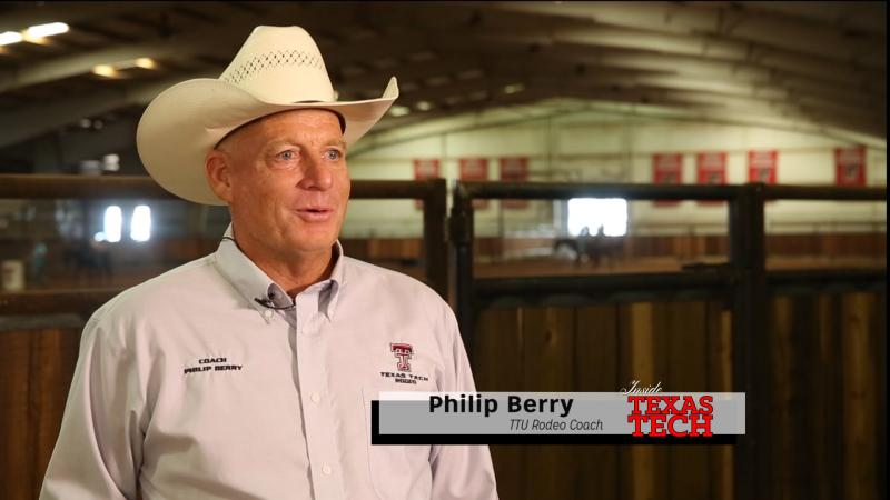 We meet new rodeo coach Philip Berry who landed his dream job by coming to Tech and hopes to continue to build on the team's past success.