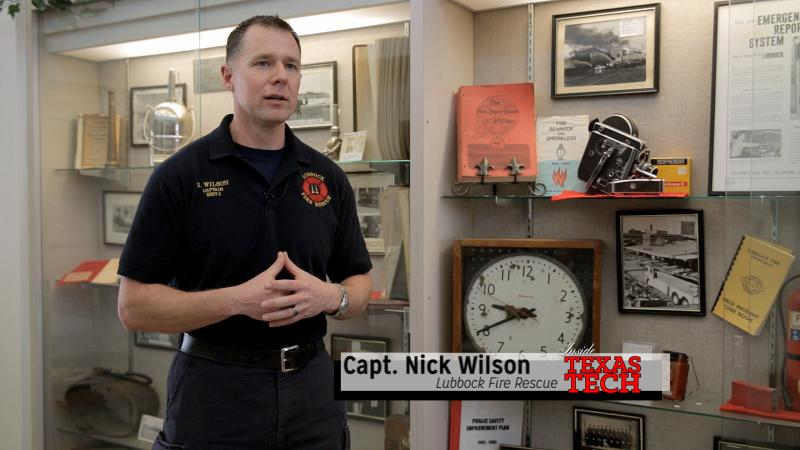 Captain Nick Wilson talks with us about the clocked that stop that day in a downtown fire station.