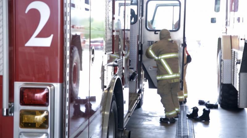 Lubbock Fire Rescue prepares for a test run.