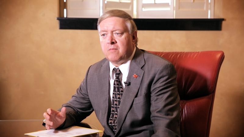 Tech President Duane Nellis talks with us about dealing with a tornado that hit Kansas.