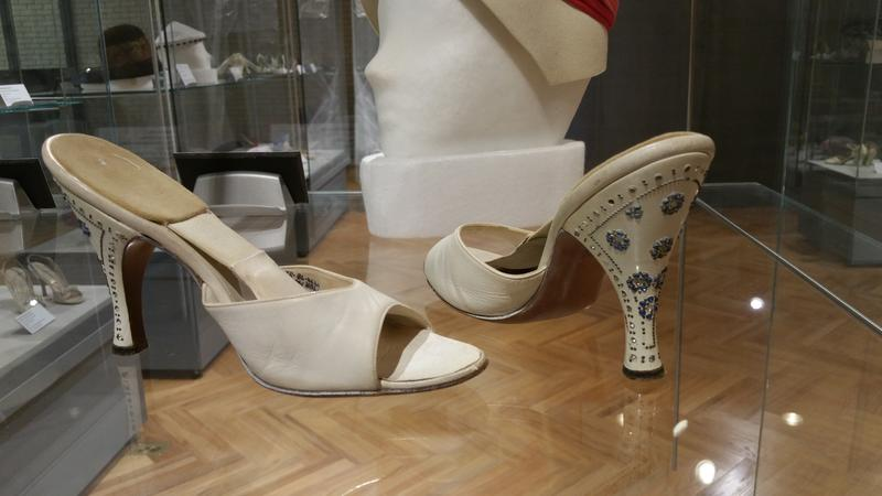 from the exhibit: hats and purses and shoes...oh my!