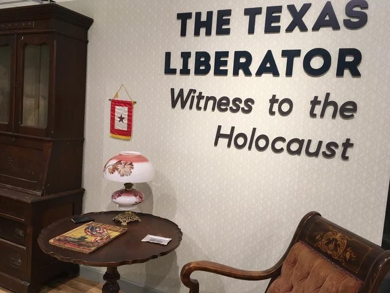"""The Texas Liberator: Witness to the Holocaust"" exhibition."