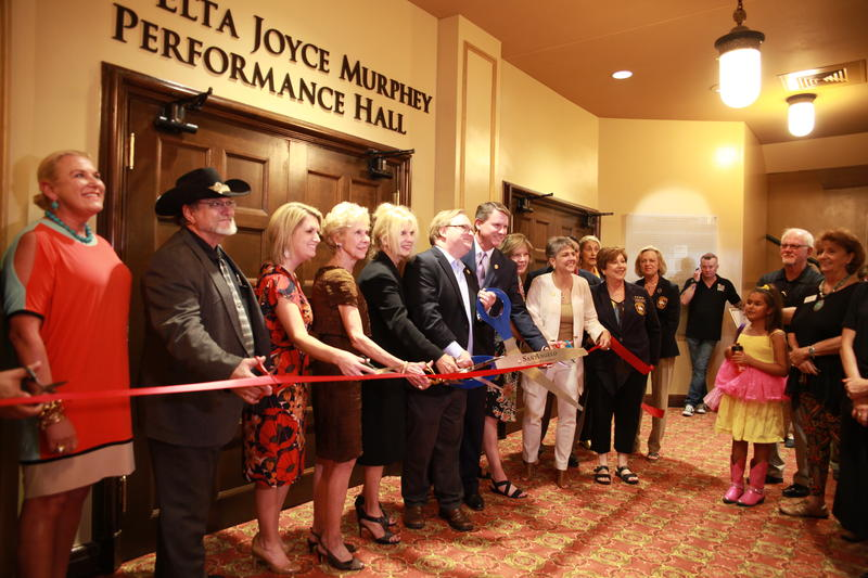 San Angelo Celebrates the opening of the Elta Joyce Murphey Performance Hall and Stage at the San Angelo Municipal Auditorium.