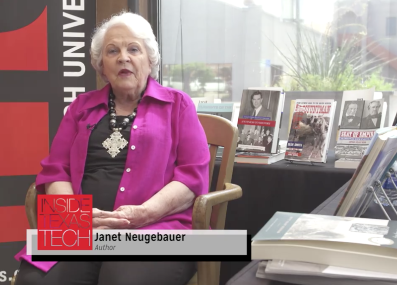 Janet Neugebauer featured on Inside Texas Tech.