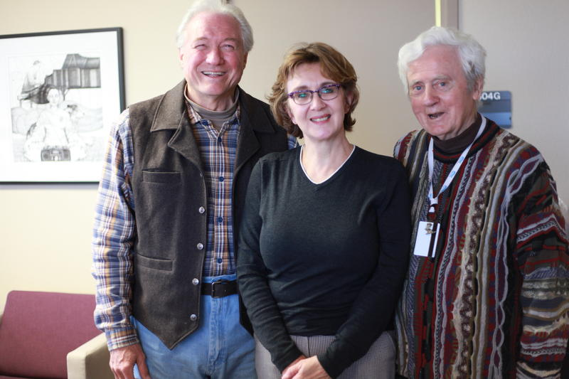 Davis Price, Elizabeth Abraham and Tom McGovern.