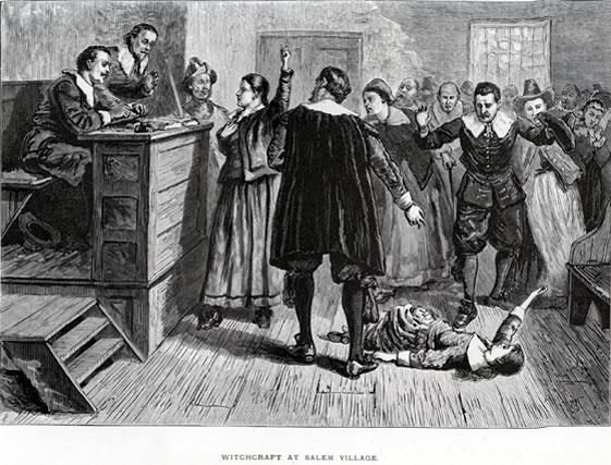 Salem witch trials.