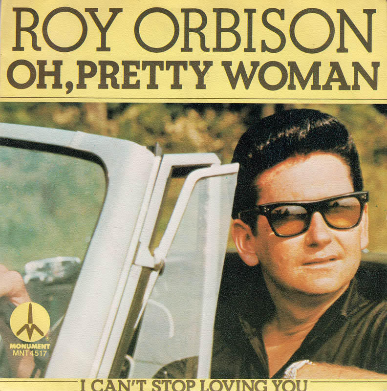 "Roy Orbison, ""Oh, Pretty Woman,"" album cover."