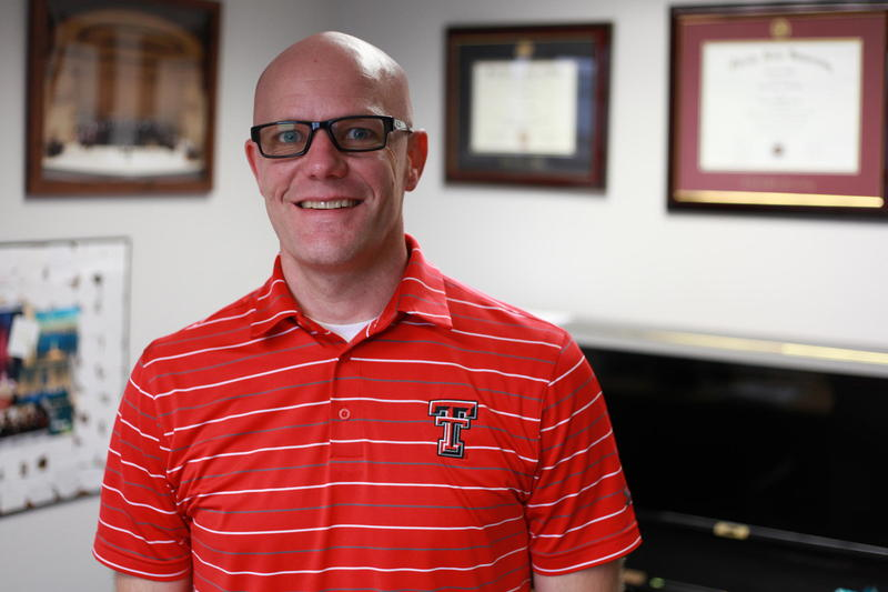 Dr. Alan Zabriskie, Director of Choral Studies at the TTU School of Music.