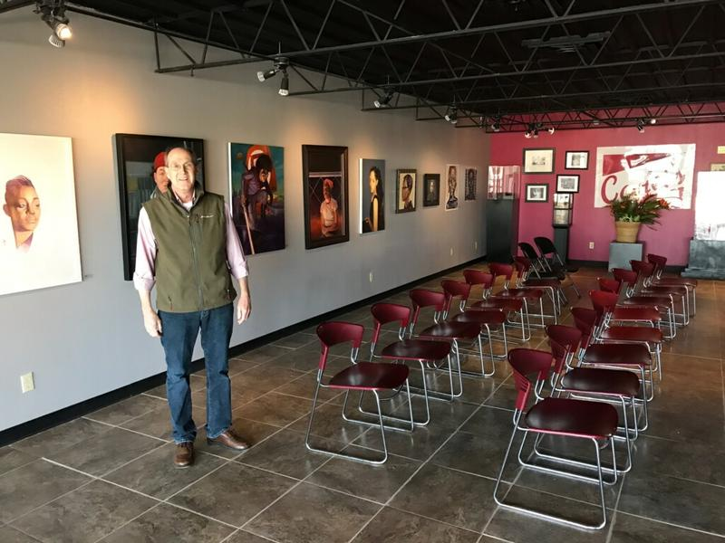 Don Holladay serves as a member of the Roots Historical Arts Council board.