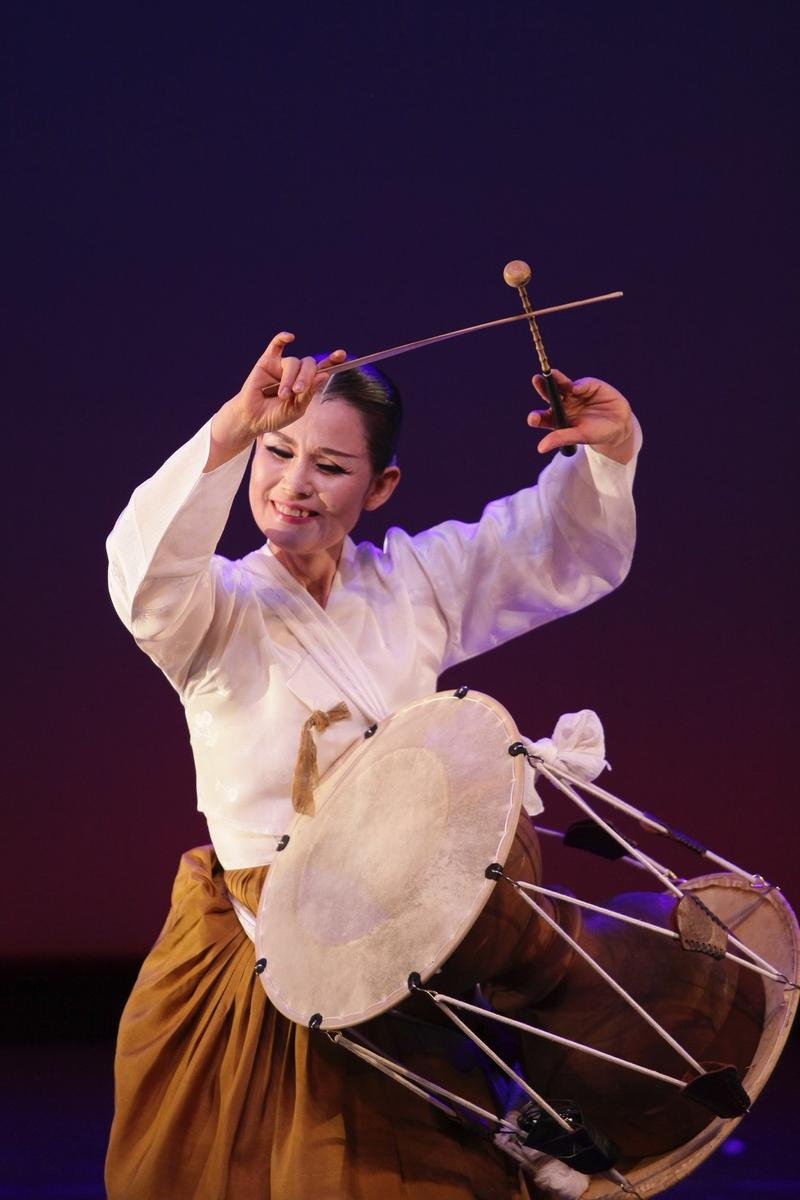 Dr. Eun Ha Park, a Korean dancer and percussionist who will perform at the Sixth Annual International Arts and Culture Symposium on April 14 at the Helen DeVitt Jones Auditorium and Sculpture Court in the Museum of Texas Tech.