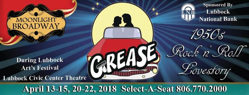 Lubbock Moonlight Broadway presents Grease.