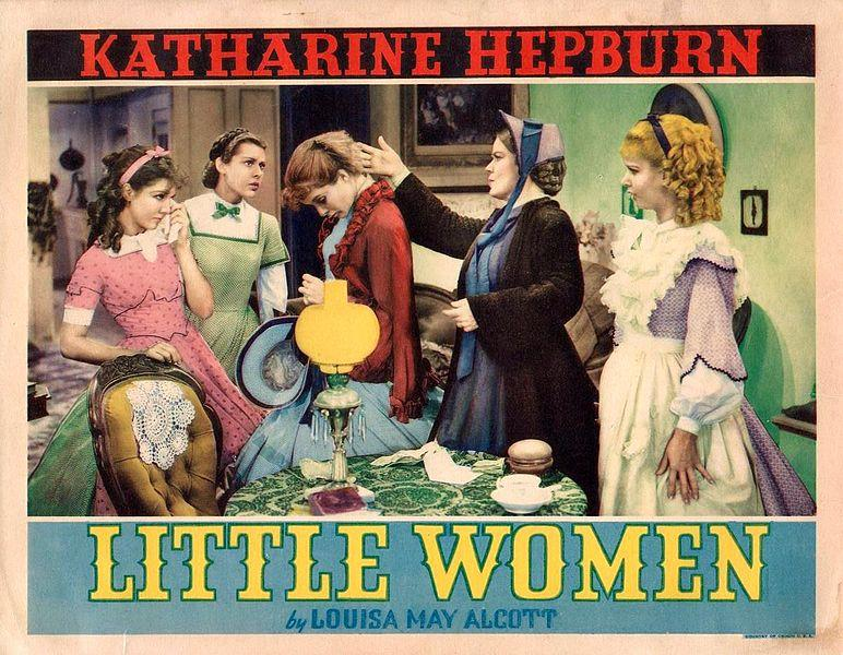 1933 lobby card for Little Women.