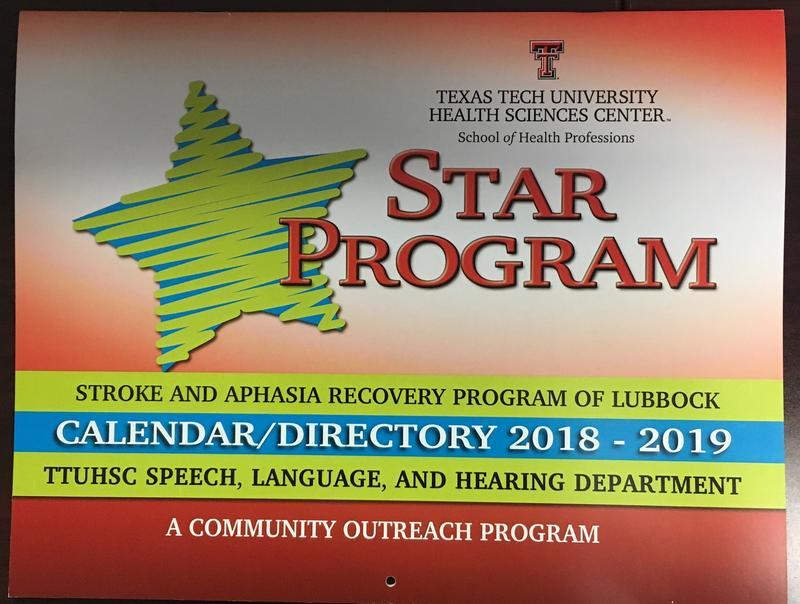 STAR Program Calendar