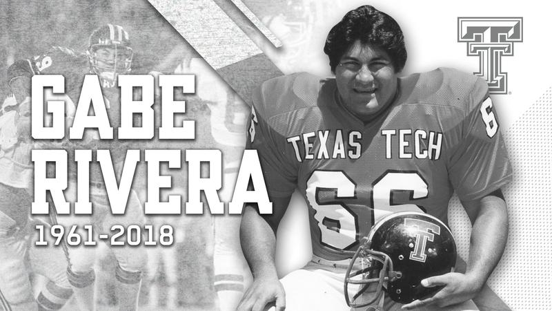 Local football legend, Gabe Rivera, passed away July 16, 2018.