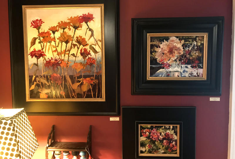 Paintings by Carol Howell that can be seen at the tour.