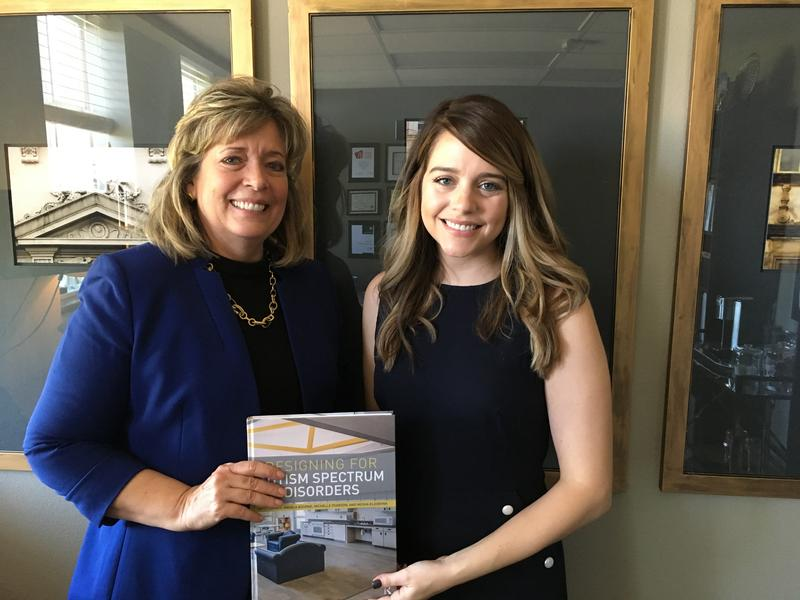Kristi Gaines, lead author of the book, and Michelle Pearson, one of three co-authors.