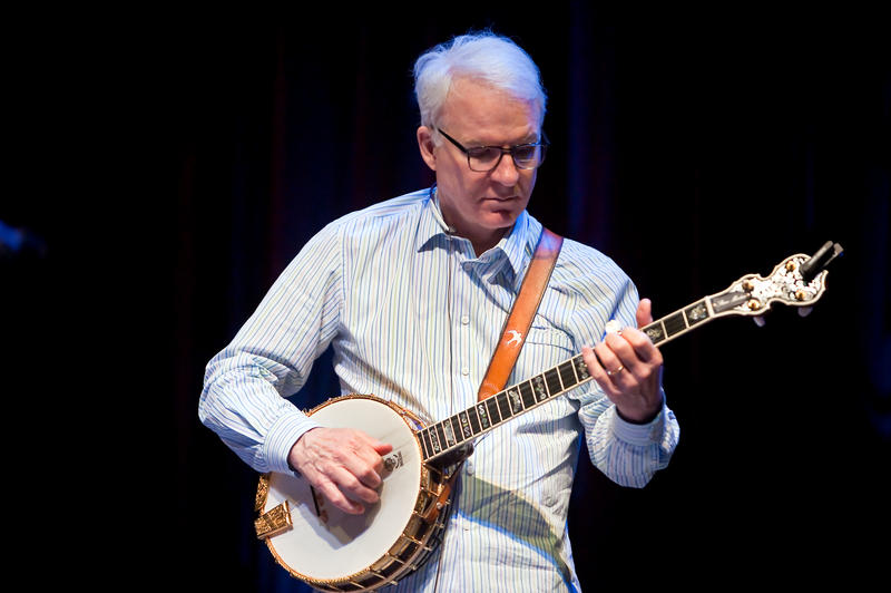 Banjoist and narrator, Steve Martin.