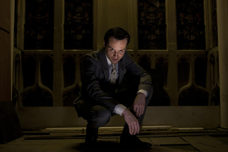 Andrew Scott as Jim Moriarty