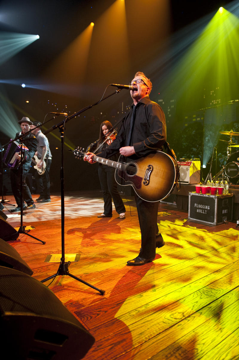 Contemporary folk rockers Flogging Molly take the stage with highlights from their career.