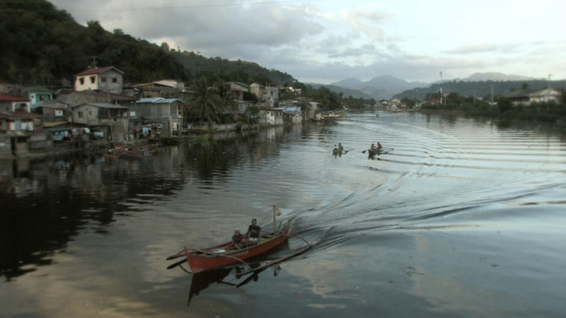 Fishermen in Olongapo.