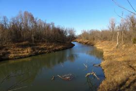 Bird Creek in northeast Oklahoma is one of nine streams no longer considered impaired due to high turbidity.