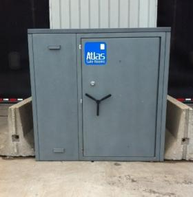 Con-way Truckload installed six of these Atlas Safe Rooms for employees around the property after the Joplin tornado.