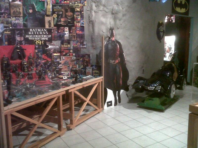 "The museum's own ""Batcave"""