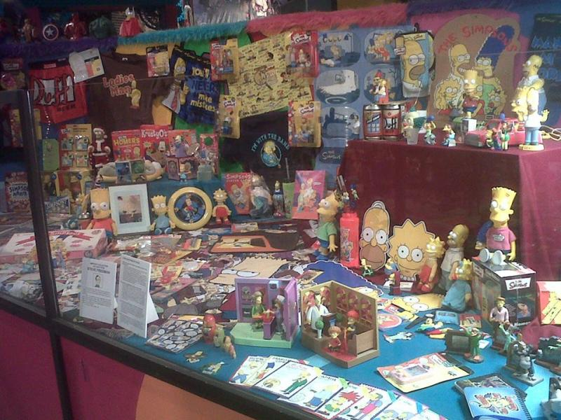 Simpsons display