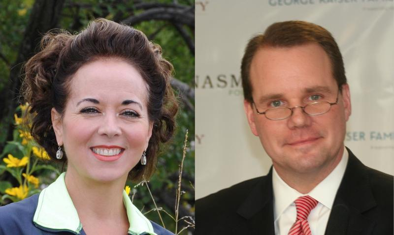 Cathy Cummings (left) and Todd Lamb (right)