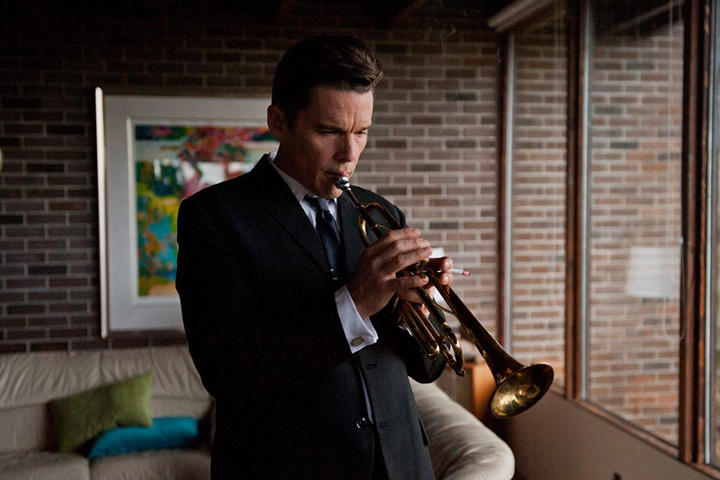 "Ethan Hawke plays famed jazz trumpeter Chet Baker in the new biopic film, ""Born To Be Blue."" (Courtesy IFC)"