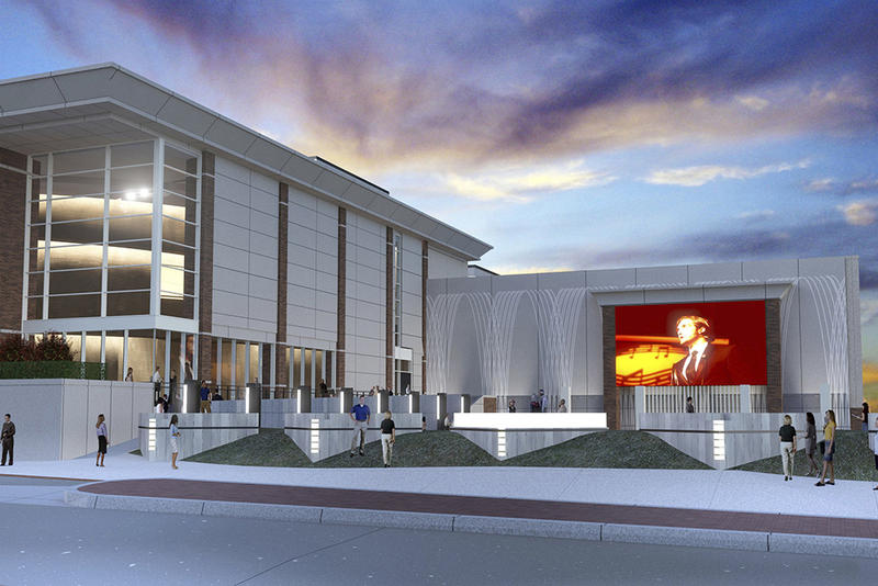 The McKnight Center for the Performing Arts at Oklahoma State University.