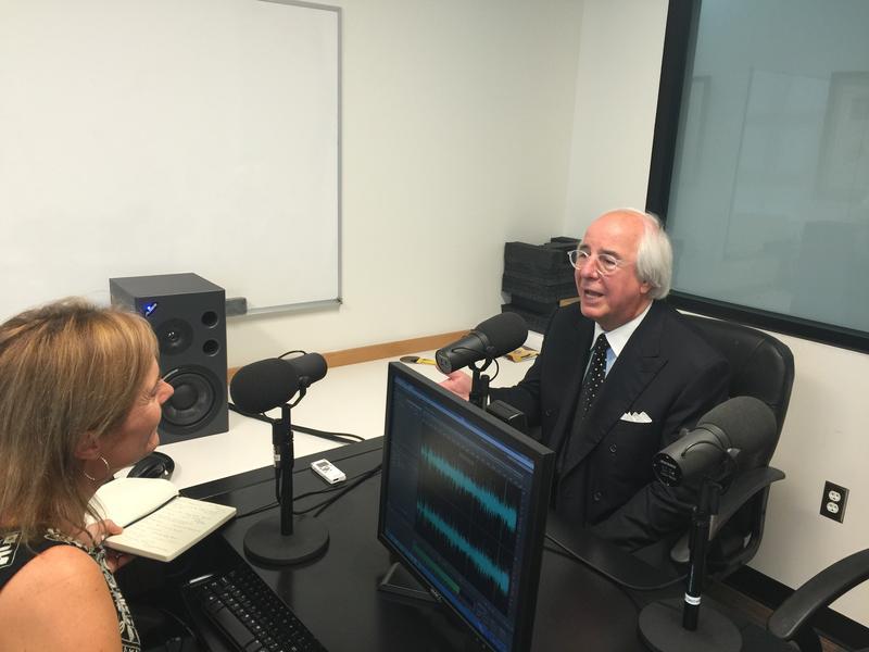 Julie Watson interviews Frank Abagnale in KOSU's Tulsa studio.