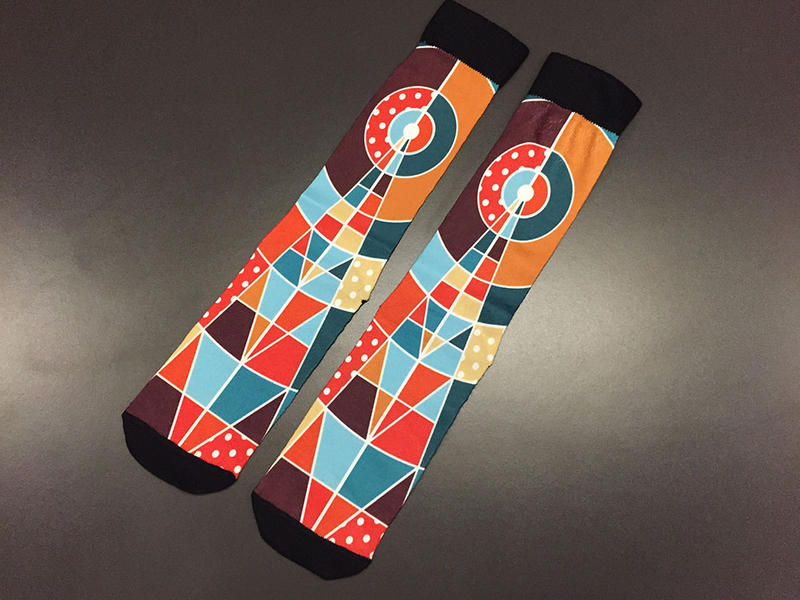 KOSU Radio Tower Socks: $180 ($15/month)