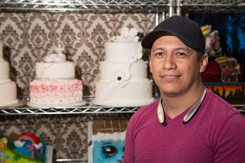 Leo Guevara, owner of Leo's Cakery in Oklahoma City
