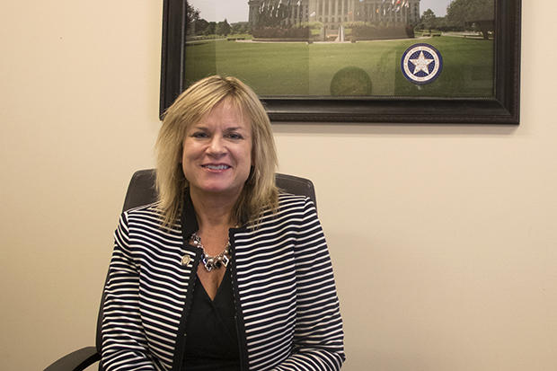 Rep. Leslie Osborn, R-Mustang, the new chair of the House Appropriations and Budget Committee.