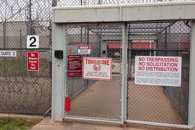 Cimarron Correctional Facility in Cushing, Oklahoma.