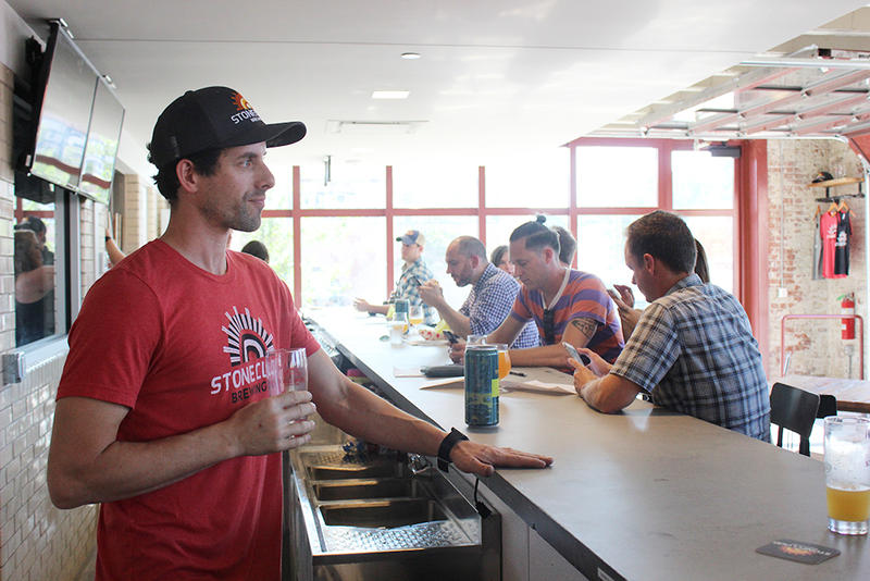 Stonecloud Brewing Co. owner Joel Irby
