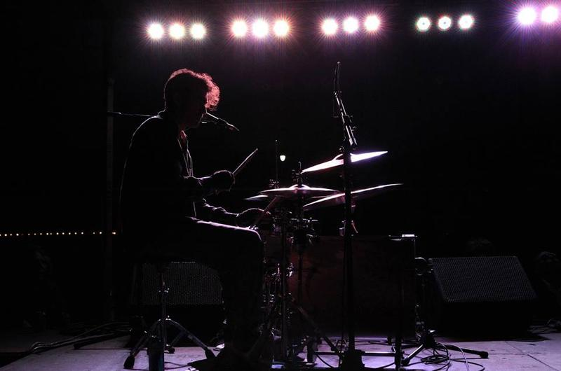 Boyd Littell performing with ADDverse Effects at Norman Music Festival in 2013.