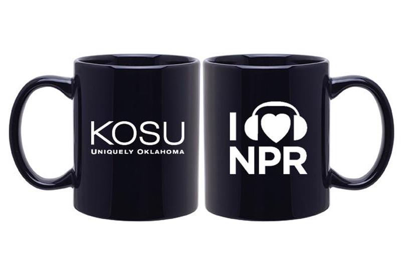 KOSU/NPR mug: $120 ($10/month)