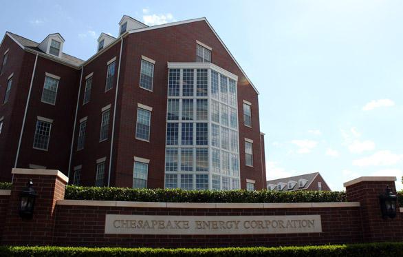 Chesapeake Energy's Oklahoma City headquarters.