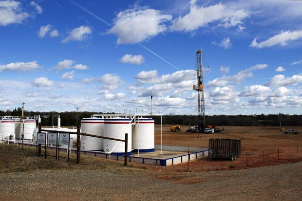 An American Energy Woodford well near Perkins, Okla.